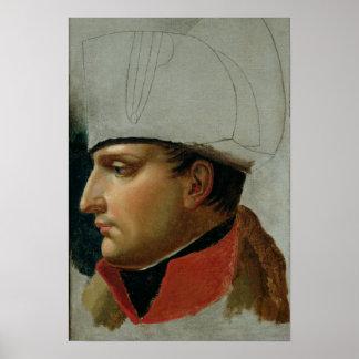 Unfinished Portrait of Napoleon I Poster