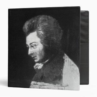 Unfinished Portrait of Wolfgang Amadeus Mozart Binder