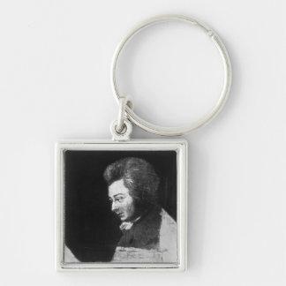 Unfinished Portrait of Wolfgang Amadeus Mozart Keychain
