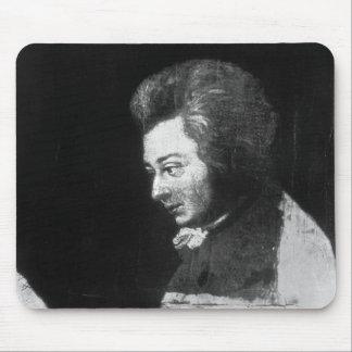 Unfinished Portrait of Wolfgang Amadeus Mozart Mousepad