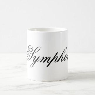 Unfinished Symphony Rebus Puzzle Mug