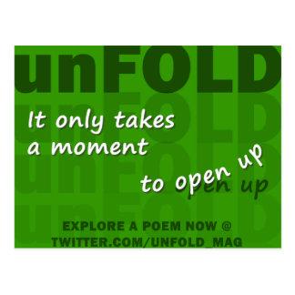 unFold Postcard