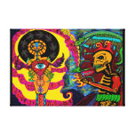 Unfolding Dreams, Mysteries & Truths Gallery Wrapped Canvas