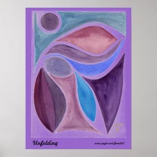 Unfolding Poster