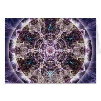 Unfoldment Mandala Greeting Card