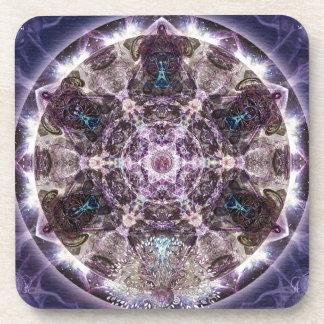 Unfoldment Mandala Coasters
