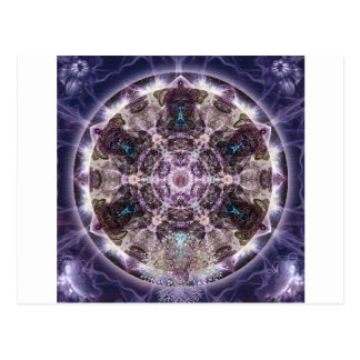 Unfoldment Mandala Postcard