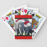 Unforgettable Elephant Christmas Deck Of Cards