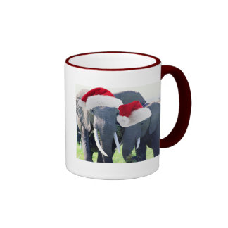 Unforgettable Elephant Christmas Mugs