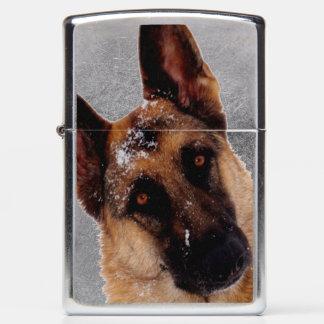 Unforgettable German Shepherd Zippo Lighter