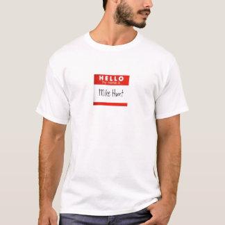 Unfortunate Name Tag - M.H. Tshirt