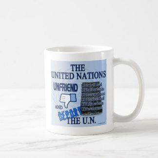 Unfriend the U.N. Coffee Mug