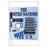 Unfriend the U.N. Dry-Erase Board