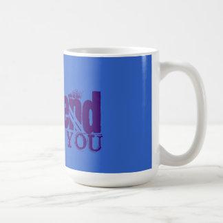 Unfriend YOU Classic White Coffee Mug