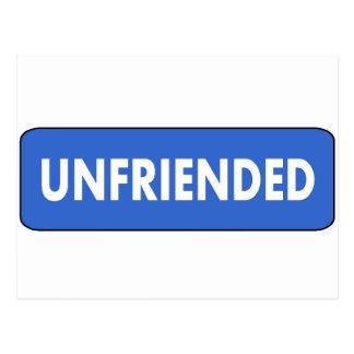 Unfriended Postcard