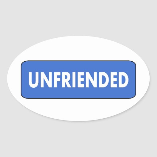 Unfriended Stickers