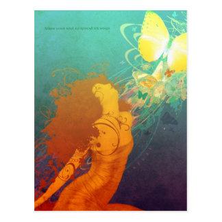 Unfurl (Postcard) Postcard