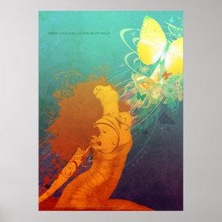 Unfurl (Print) Poster