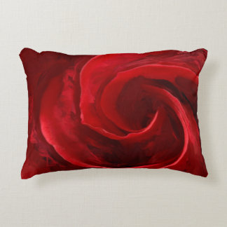 Unfurling Beauty Brushed Polyester Accent Pillow