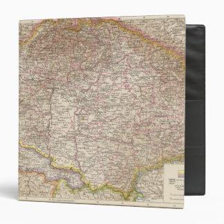 Ungarn, Hungary Atlas Map Binder