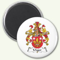 Unger Family Crest Magnet