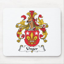 Unger Family Crest Mousepad
