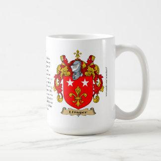 Unger nombra, el origen, el significado y el taza de café