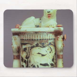 Unguent jar with a figure of a the king as a lion mouse pad