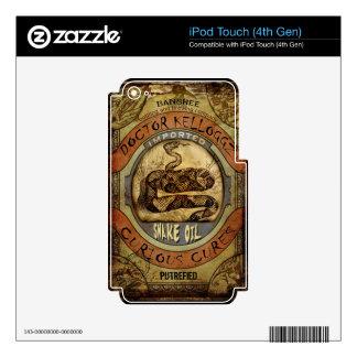 Ungüento mágico iPod touch 4G skins