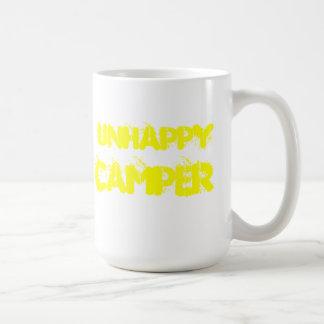 unhappy camper coffee mug