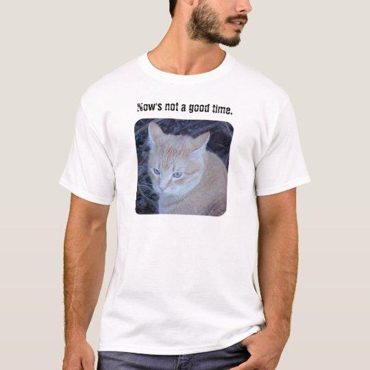 Unhappy Cat T-Shirt