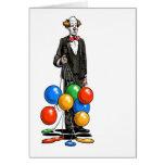 Unhappy Clown Card