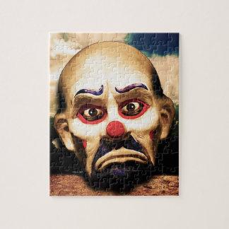 Unhappy Clown Jigsaw Puzzle