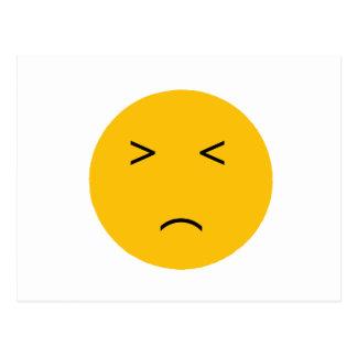 Unhappy Postcard