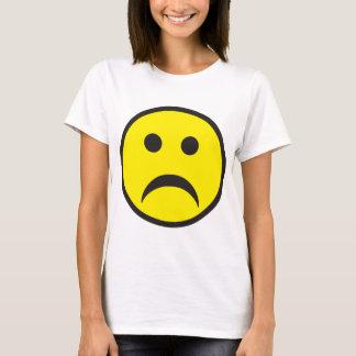 Unhappy Smiley Sadness Face T-Shirt