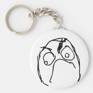Unhappy Troll Keychain