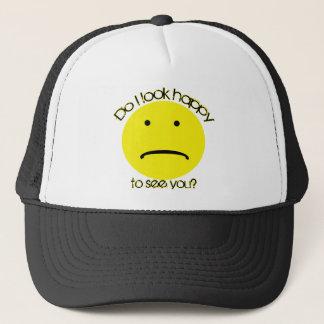 Unhappy Trucker Hat