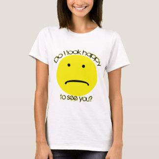 Unhappy women's light T-Shirt