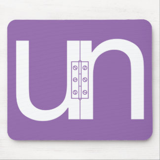 Unhinged (Un-Hinged) Puzzle Mousepad