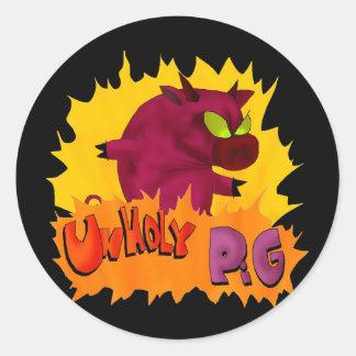 Unholy Pig! Sticker