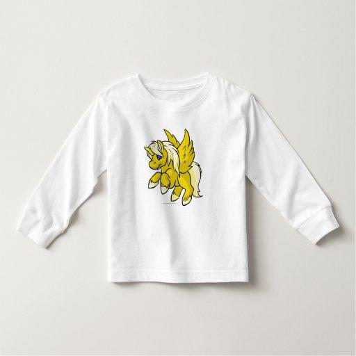 Uni amarillo playera