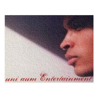 uni aum Entertainment Postcard