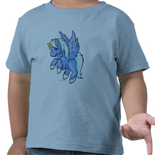 Uni azul camisetas