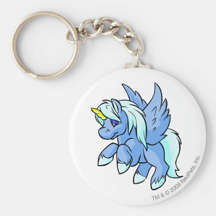 Uni Blue Keychain