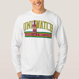 Uni camisa del reloj (longsleeve - blanco)