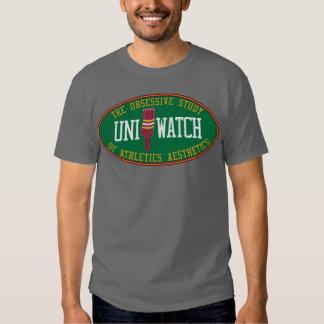 Uni camisa gris del reloj (suplente)