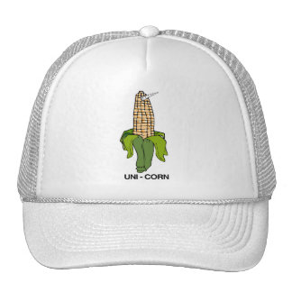 UNI CORN EAR OF CORN TRUCKER HAT