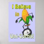 Uni-Corn Poster