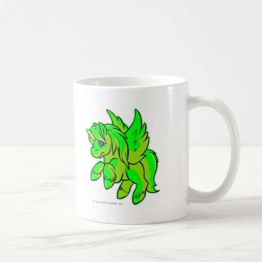 Uni Glowing Classic White Coffee Mug