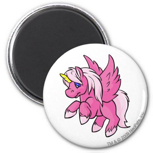Uni Pink 2 Inch Round Magnet